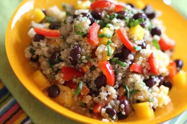 mango quinoa salad 3